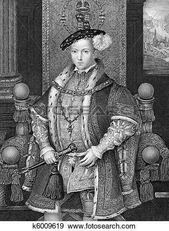 Stock Photograph of Edward VI King of England k6009619.
