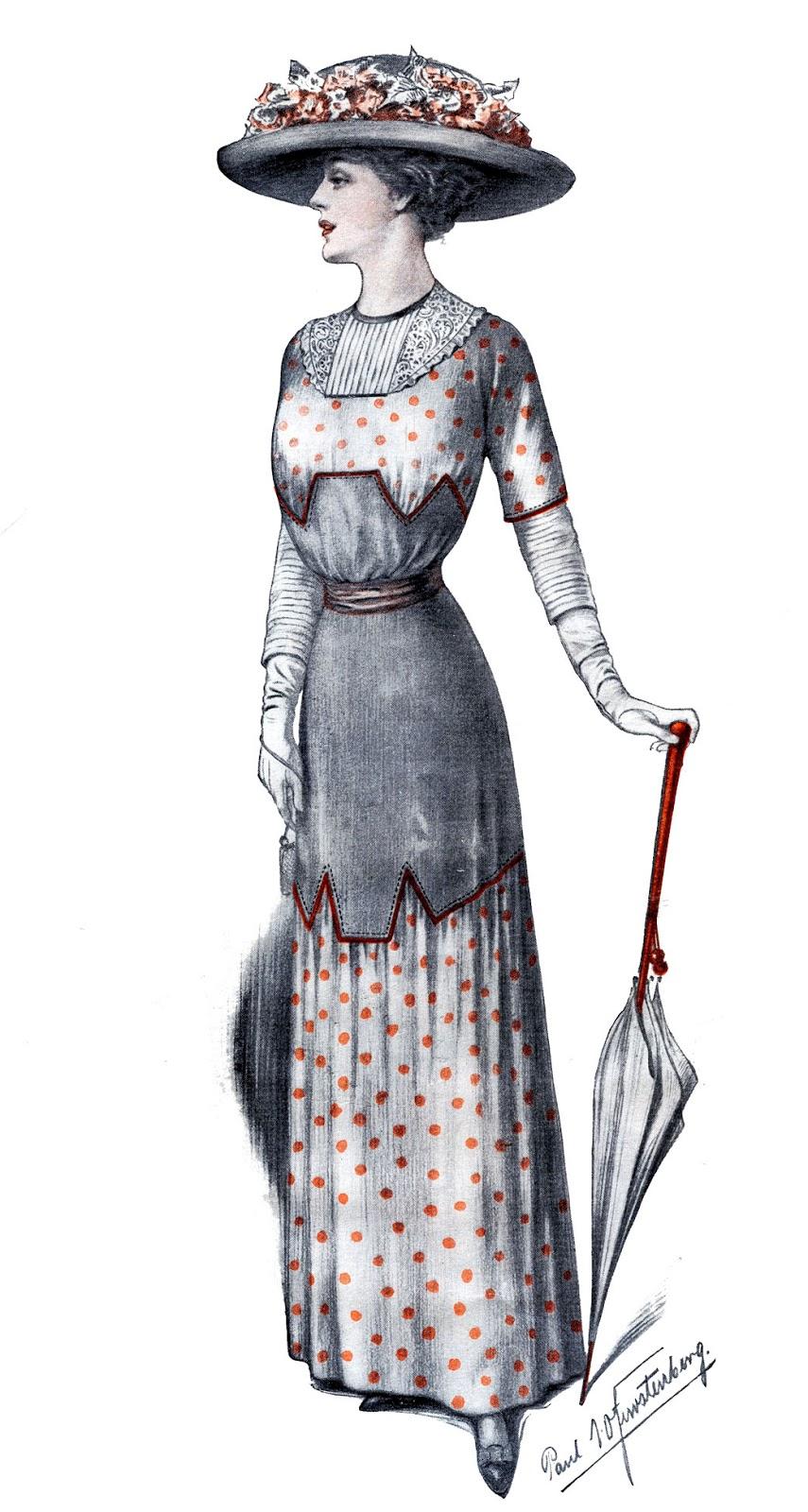 Edwardian Fashion Image.