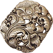 German+silver+repousse in Jewelry.