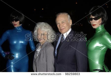 Buzz Aldrin And Wife Stock Photos, Royalty.