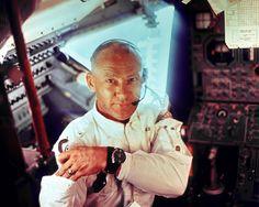 Omega Speedmaster worn by Buzz Aldrin on his moonwalk.