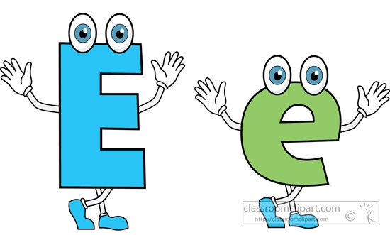 Letter Ee Clipart & Free Clip Art Images #26432.
