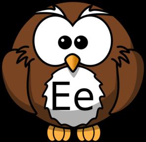 Ee Owl Clip Art at Clker.com.