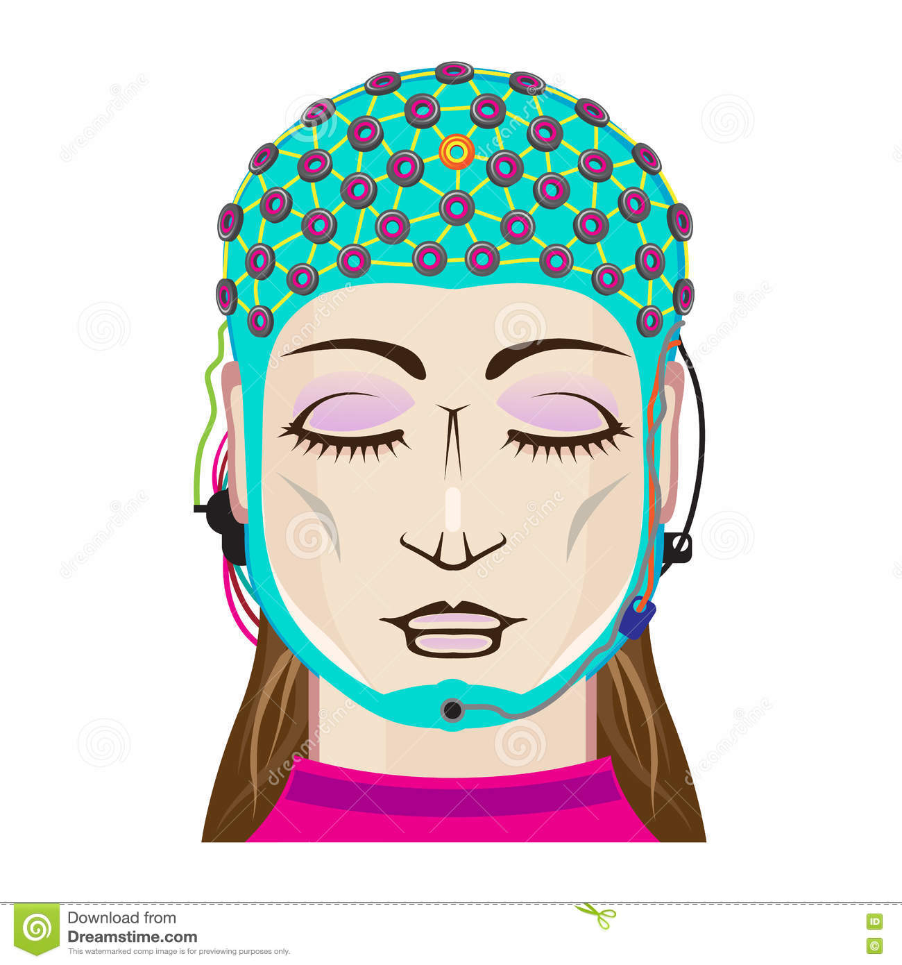 Eeg Stock Illustrations.