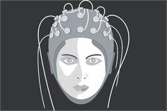 Electroencephalography Stock Illustrations.