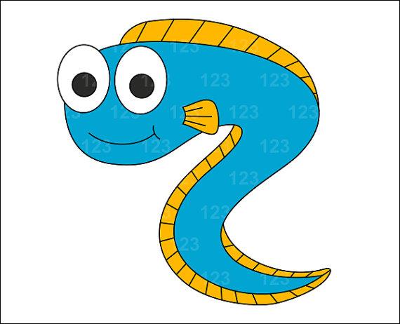 Eel images clip art.