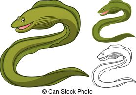 Moray eel Clipart and Stock Illustrations. 88 Moray eel vector EPS.