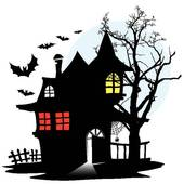 Eerie Clip Art and Illustration. 952 eerie clipart vector EPS.