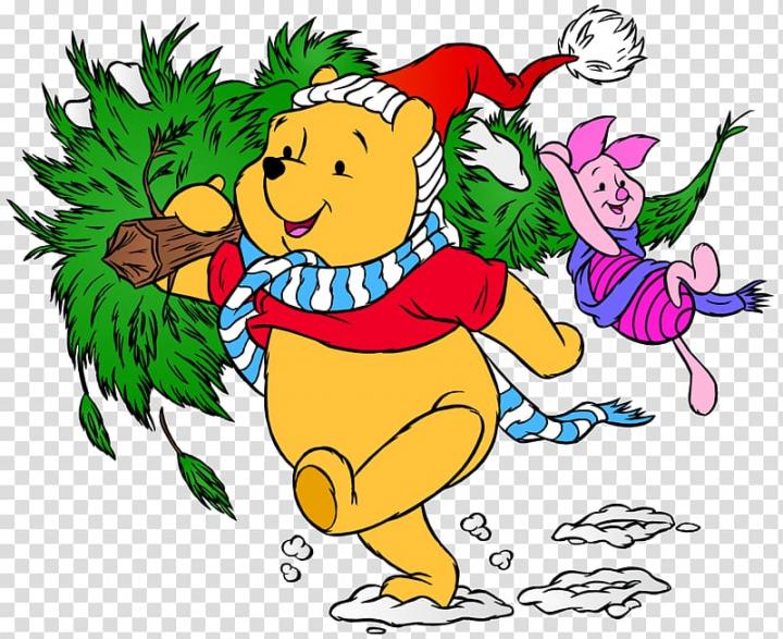 Winnie the Pooh Piglet Tigger Eeyore Christmas, winnie the.