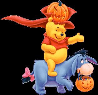 Halloween Pooh & Eeyore.