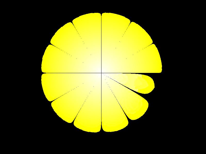 efectos de luces con brillo en png.