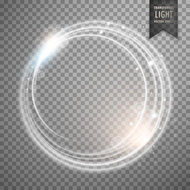 Transparente enquanto design de vetor de efeito de luz.