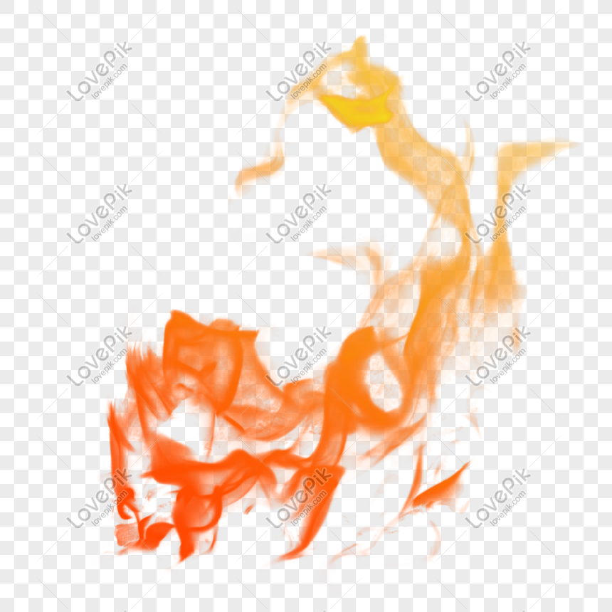 api kuning merah efek api realistis png peta gratis gambar.
