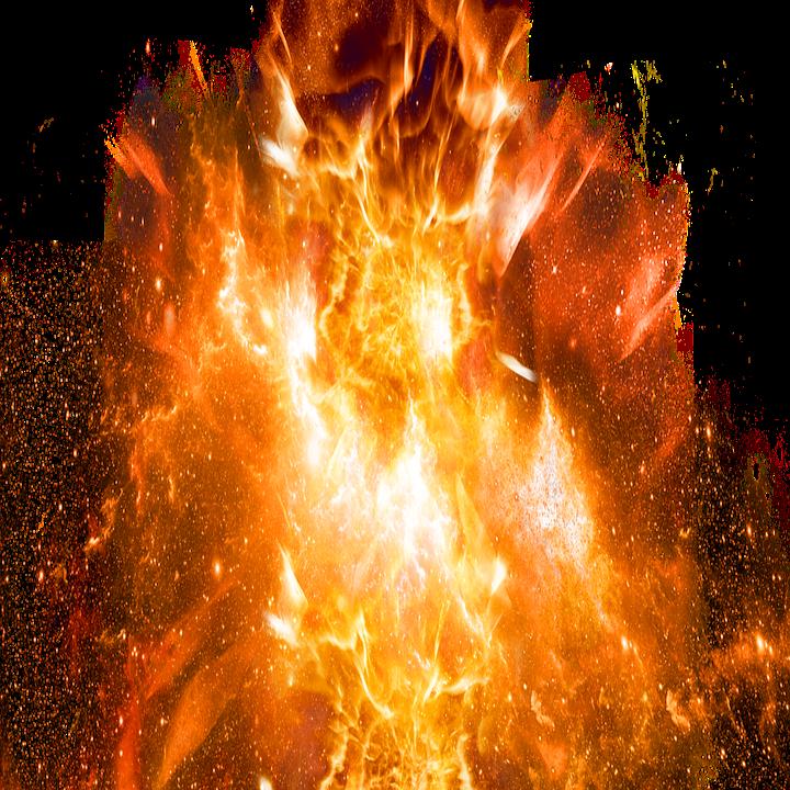 Ledakan Api.