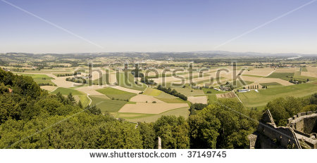 Intensive Farming Aerial View Northern Italy Stock Foto 17901943.