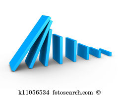 Domino effect Clip Art and Stock Illustrations. 312 domino effect.
