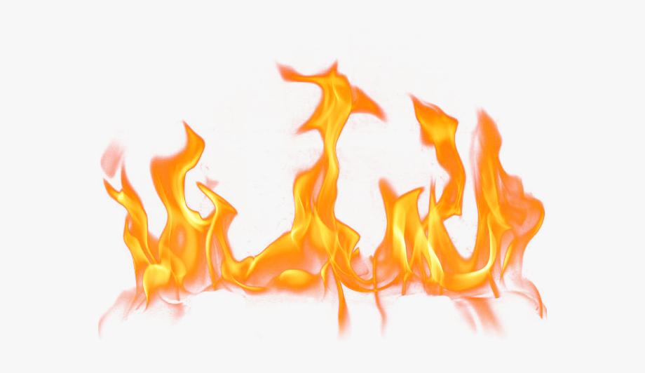 Fire Flames Clipart Fire Effect.
