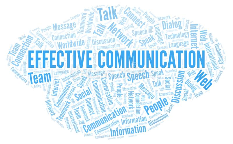 Effective Communication Stock Illustrations.