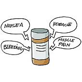 Clip Art of Medication Side Effects k22313737.