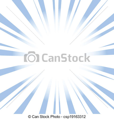 Vector Clip Art of Radial Speed Lines graphic effects csp19163312.