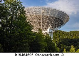 Radio telescope array owens valley california Stock Photos and.
