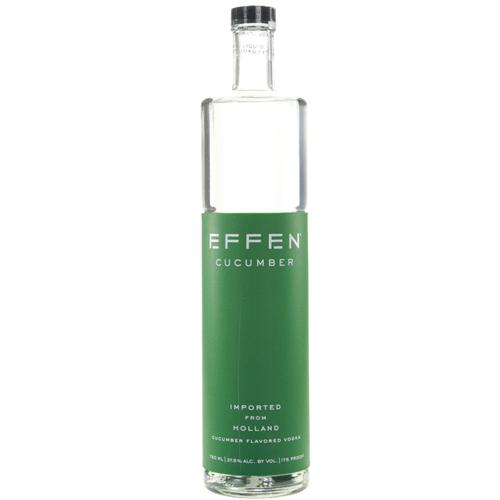Effen Cucumber Vodka.