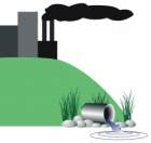 Water Pollution Clip Art.