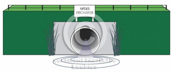 Effluent Discharge clip art.