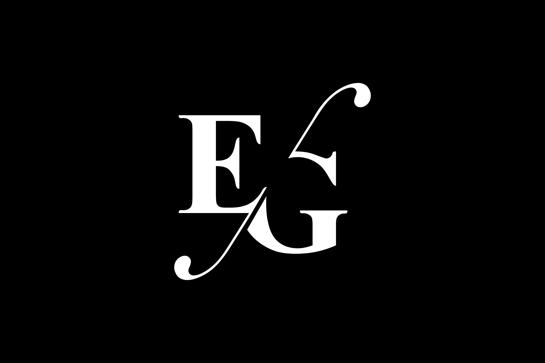 EG Monogram Logo Design By Vectorseller.