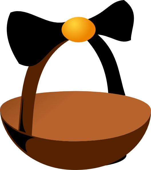 Empty Easter Basket Clip Art at Clker.com.