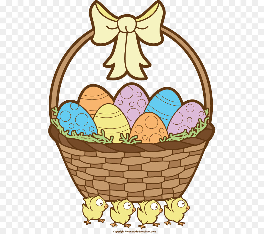 Easter egg basket clipart 3 » Clipart Station.