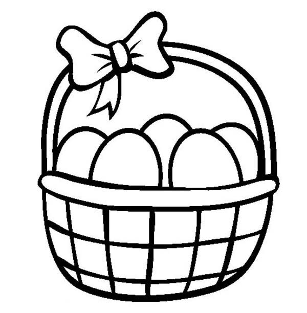 Easter Egg Basket Clipart (89+ images in Collection) Page 1.