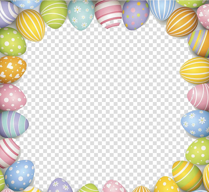 Easter Egg Border Png, Transparent PNG, png collections at.