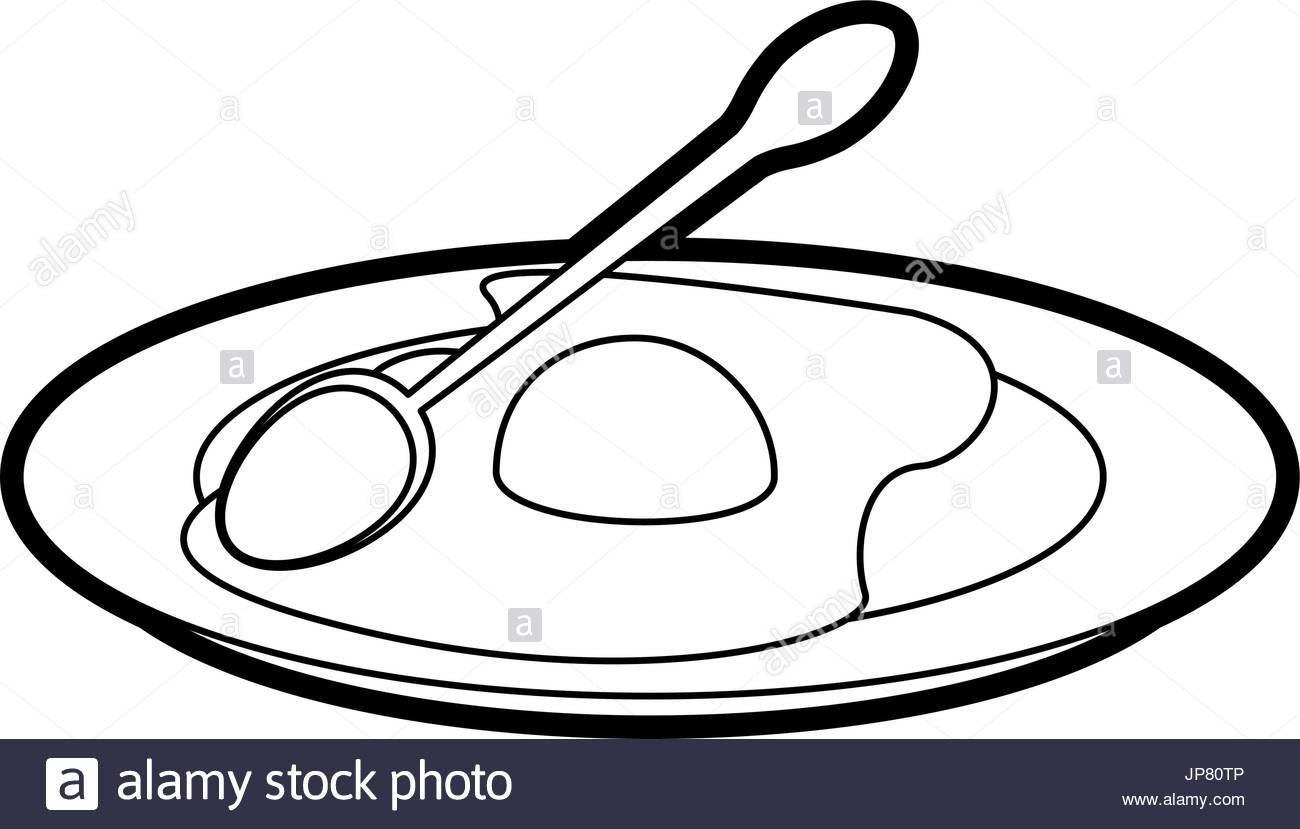 Fried egg clipart black and white 4 » Clipart Portal.