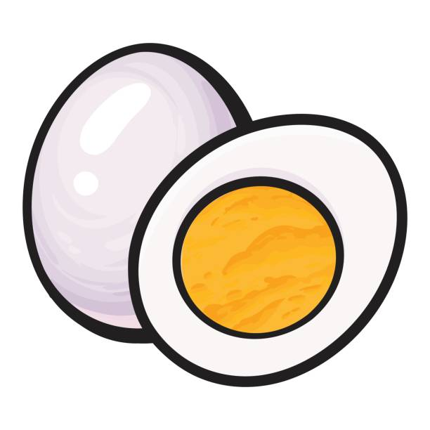 Hard Boiled Egg Clipart.