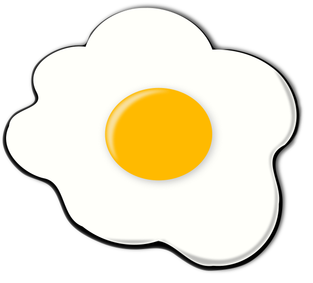 Download Free png fried egg clipart.