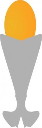 Egg Egg Cup clip art Free Vector / 4Vector.