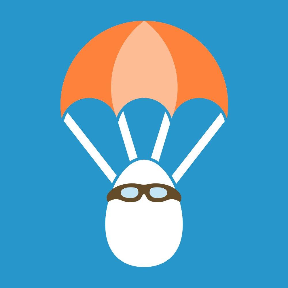 Egg Drop Clipart.