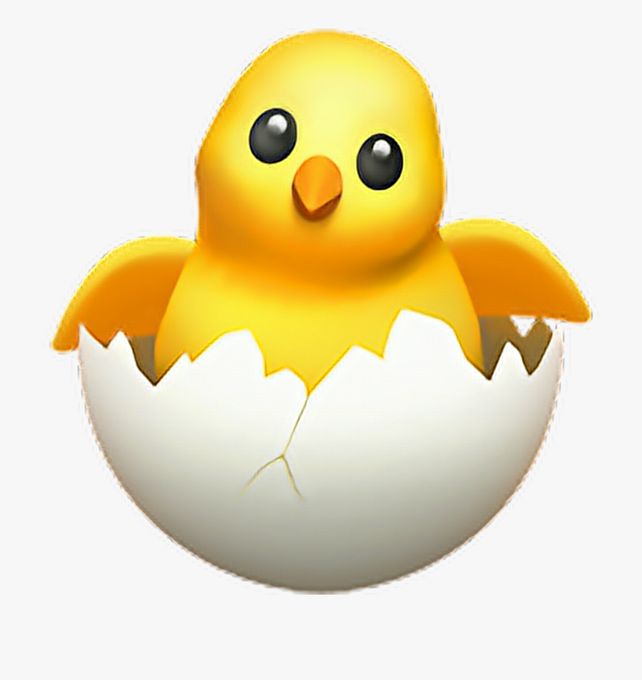 Chick Transparent Egg.
