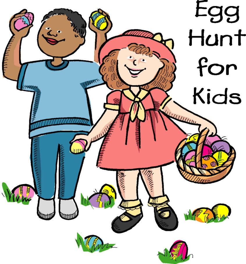 Easter Egg Hunt Clipart 7.