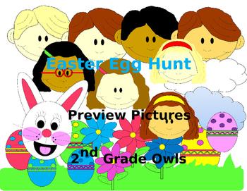 Easter Egg Hunt clipart.
