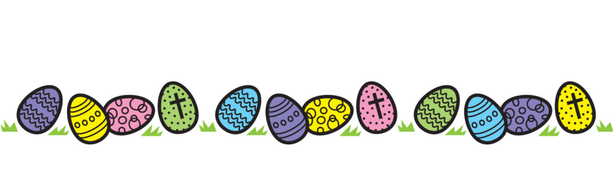 Easter Egg Hunt Clipart.