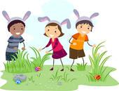 Easter egg hunt Clip Art and Stock Illustrations. 1,228 easter egg.