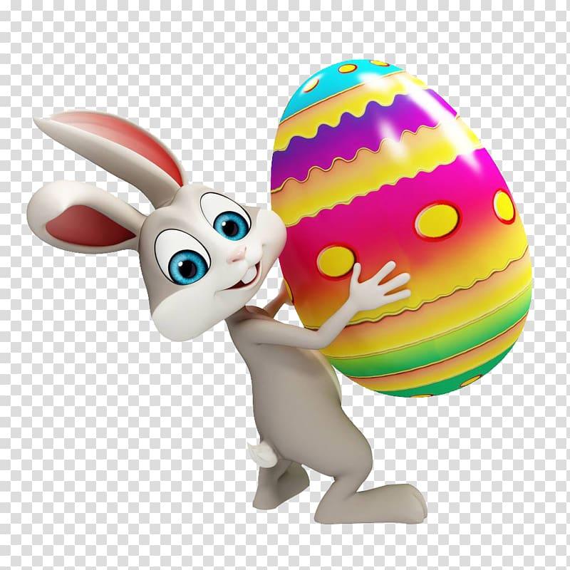 Easter Bunny Egg hunt Easter egg , Easter eggs with eggs transparent.