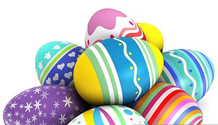 Annual Easter Egg Hunt.