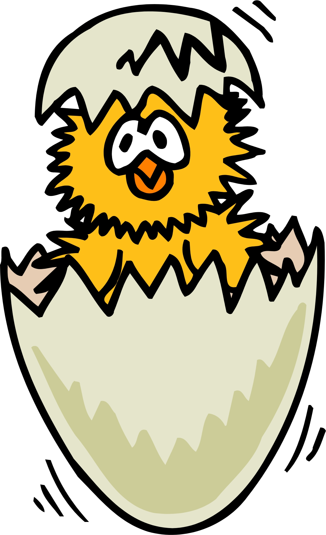 Chicken Egg Clipart.