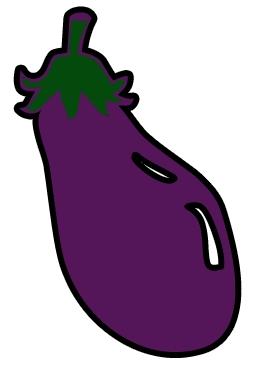 Eggplant Clipart Free Eggplant Vector.