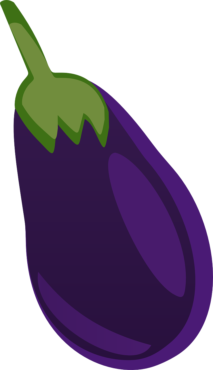 Free to Use & Public Domain Eggplant Clip Art.