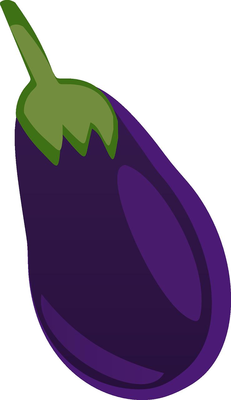 Free to Use & Public Domain Eggplant Clip Art.