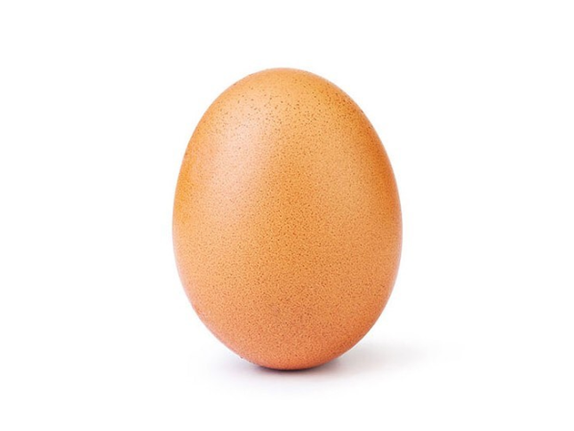This Egg Has More Instagram Clout Than You.